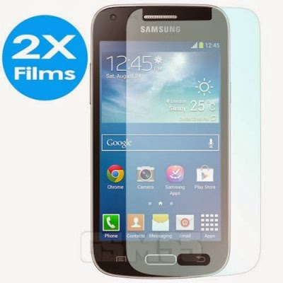 Anti-traces, anti-bulles films transparant pour Samsung Galaxy Core Plus G3500