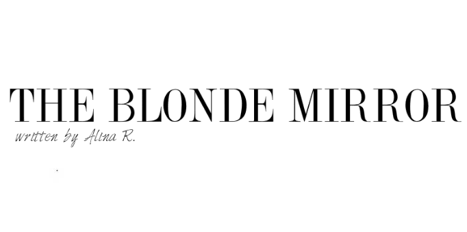 the blonde mirror