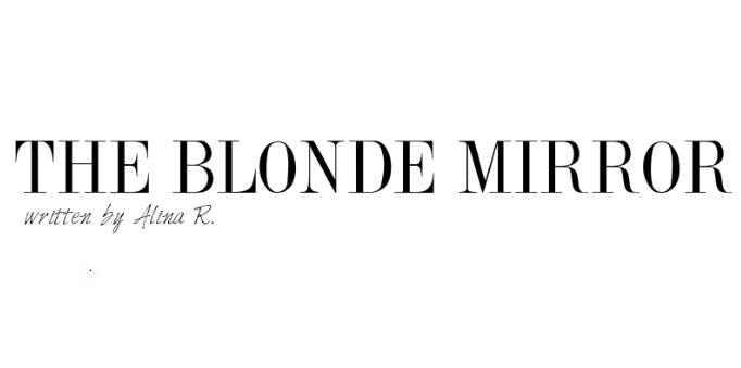 the blonde mirror