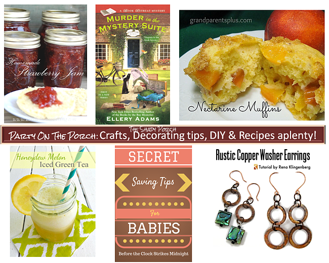 Party On The Porch: Crafts, Decorating tips, DIY & Recipes aplenty!