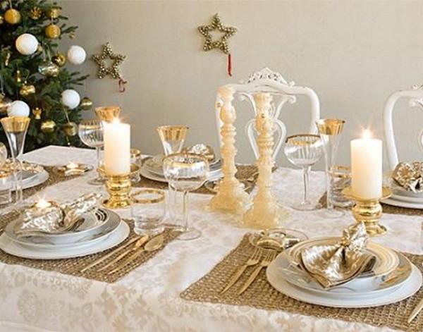 Tilbury decoraci n mesas de navidad - Adornos mesa navidad ...