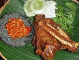 Resep praktis (mudah) membuat masakan (makanan) khas jawa bebek goreng lamongan