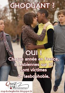 Stop lesbophobie