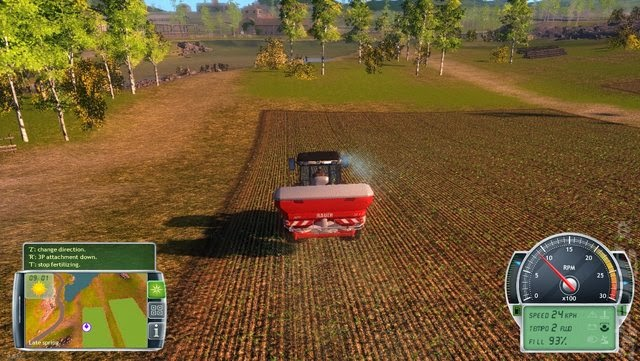 Professional Farmer 2014 gameplay