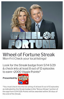 Wheel of Fortune, Viggle, Viggle Streak, Viggle Mom