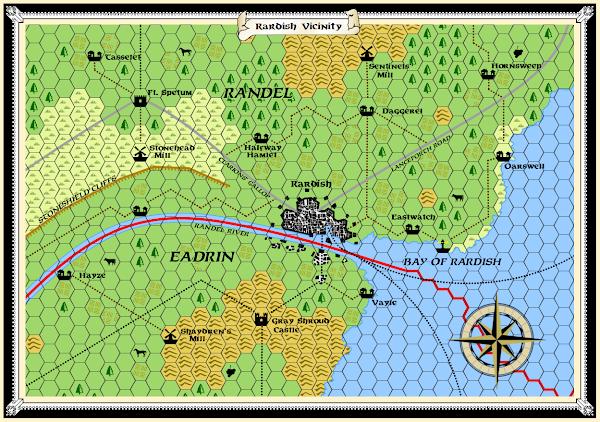 Mystara Alphatia Randel Rardish Map