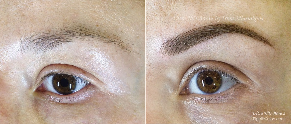 Pigalle salon and medspa for 1 salon eyebrow embroidery