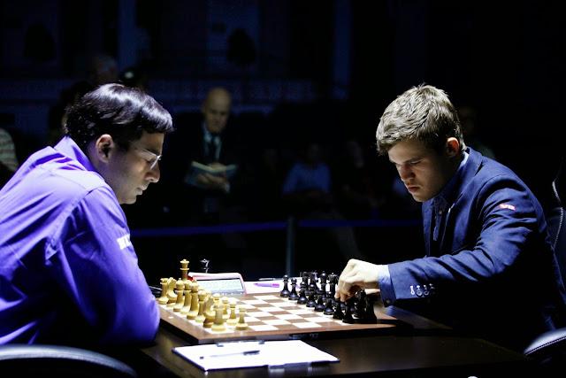 Echecs : Anand à nouveau face à Carlsen © Chess & Strategy