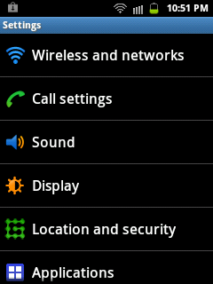 Use your Samsung Galaxy Y as Internet Access Point