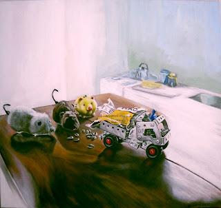 acrílico sobre tela, pintura