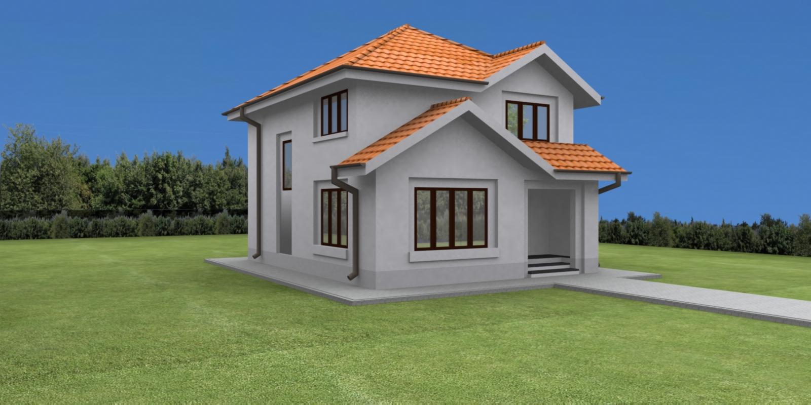 Case planuri proiecte proiect vila tip c for Planuri de case