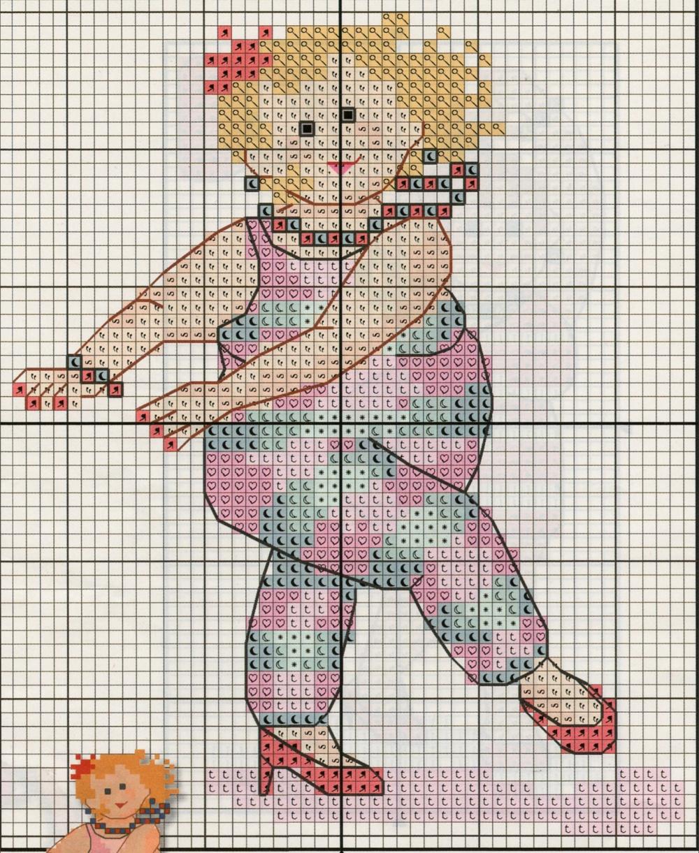 Схема к вышивке моя дочь