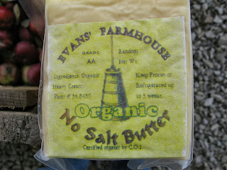 Evans' Farmhouse organic butter