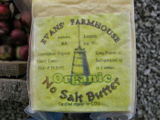 Evans' Farmhouse organic butter