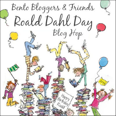 Roald Dahl Day bento lunch Blog Hop & Link Party @ BentOnBetterLunches