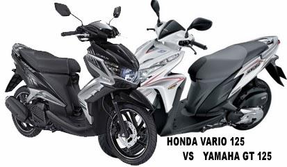 Perbandingan Yamaha GT 125 VS Honda Vario Techno 125 CBS Kelebihan dan Kekurangan