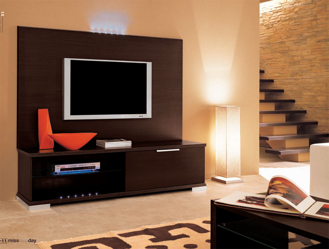 Lcd tv cabinet designs an interior design Tv panel furniture design