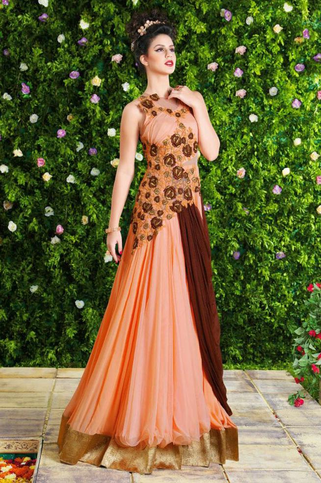 Latest Collection Online: Online Designer wedding Gown Sale Mumbai