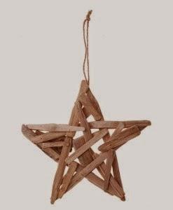 Étoiles de Noël Avec du Bois Flotté