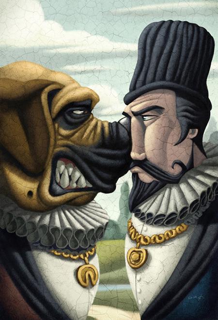Las ilustraciones de David de Ramón