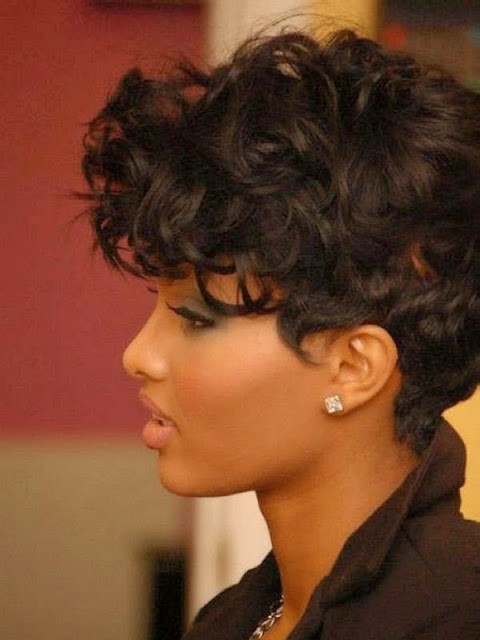 Short African American Weave Hairstyles With Various Textures