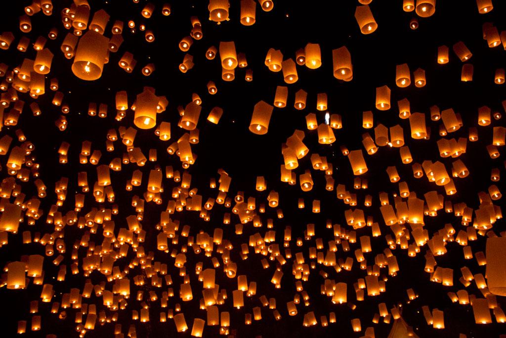Lanterne volante mariage - Construire une lanterne volante ...
