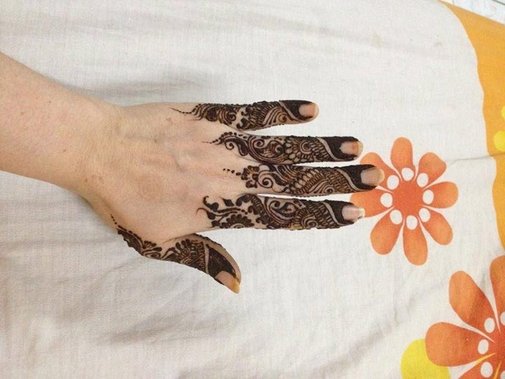 Fingers Mehndi Designs Pics : Bridal mehndi designs best simple henna for fingers