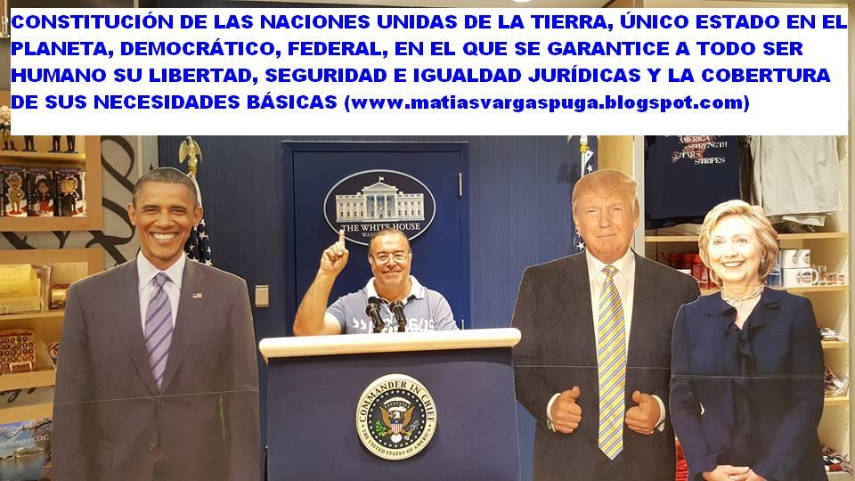 LOS TRATADOS INTERNACIONALES CONSEGUIRÁN EL FUTURO NUEVO ESTADO DE LAS NACIONES UNIDAS DE LA TIERRA