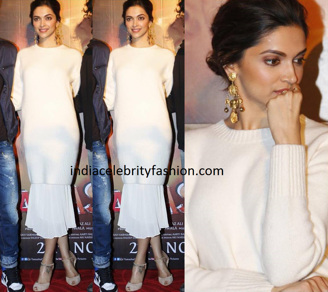 Deepika padukone in amp other stories dress