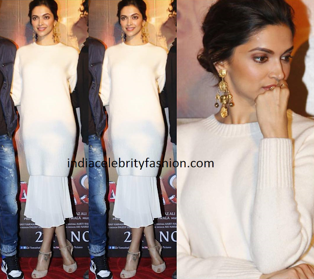 Deepika Padukone in & Other Stories Dress