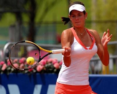 bonita julia georges de las mas atractivas del tenis mundial