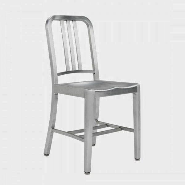 Ourso Designs History Lesson Emeco Navy Chair