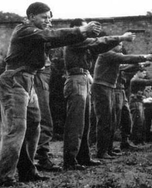 Jedburgh .45 Training