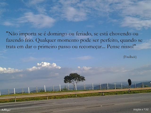 Foto particular - KRI: foto tirada em Minas Gerais