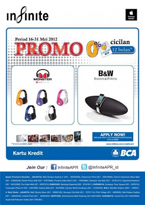harga promo earphone headphone dan speaker kartu kredit bca