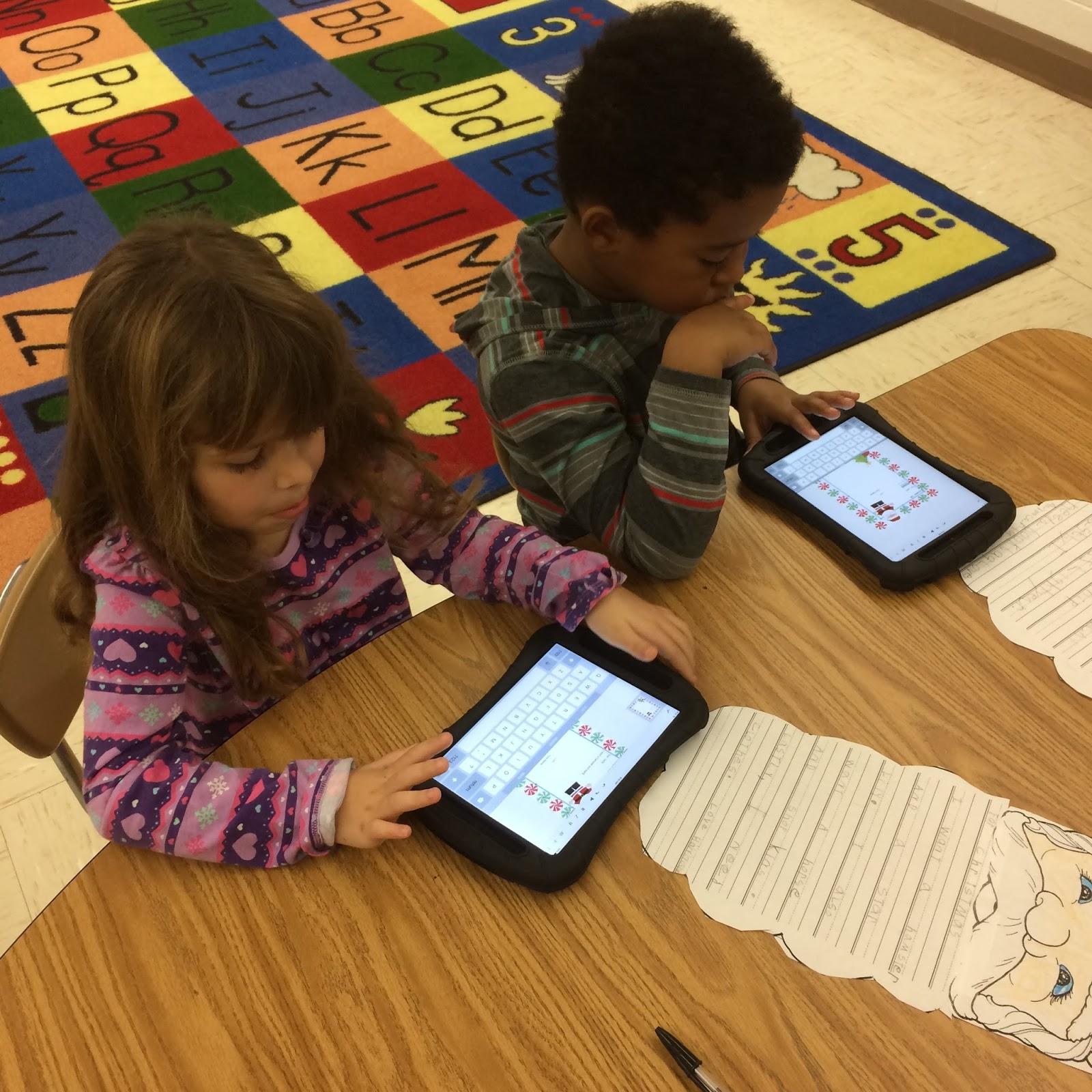 tes tech effect google classroom google slides first grade