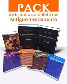 PACK DE ESTUDIO COMPLETO DEL ANTIGUO TESTAMENTO (UN SOLO LINK)