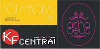 Cafetería Central, Amadeus y Sopa Boba