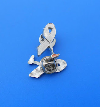 Prosthetic Awareness lapel pin