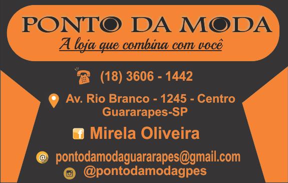 PONTO DA MODA