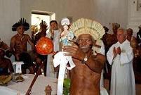 Pajé da Raimundo da tribo Xocó, de Porto da Folha/SE