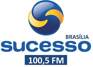 Rádio Sucesso FM 100,5 MHZ de Brasília está em funcionamento