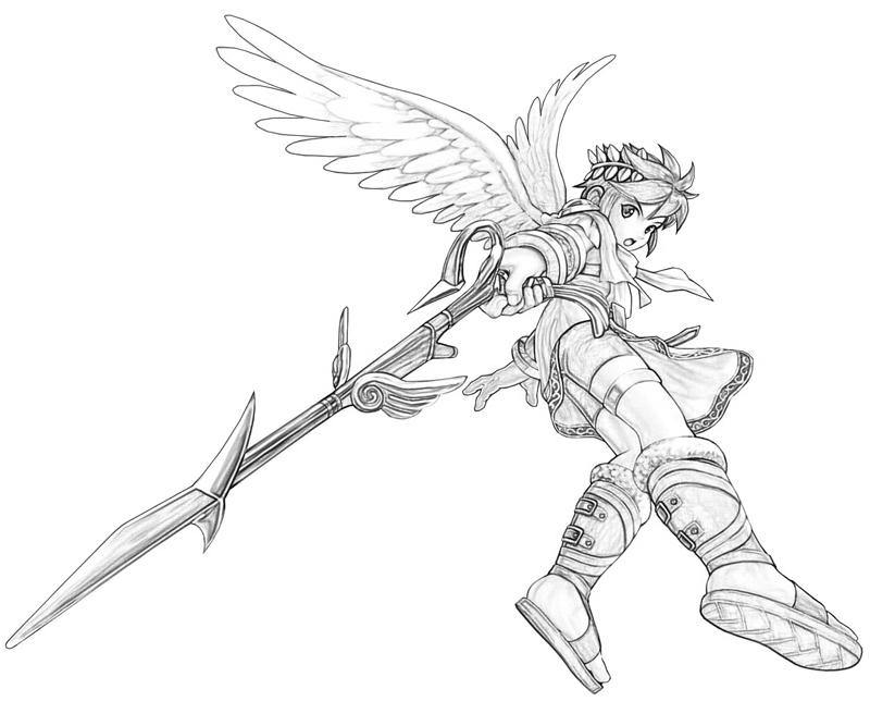 Kid Icarus Pit Weapon