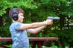 Shooting Dad's Handgun