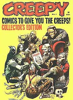 Creepy n. 1, copertina