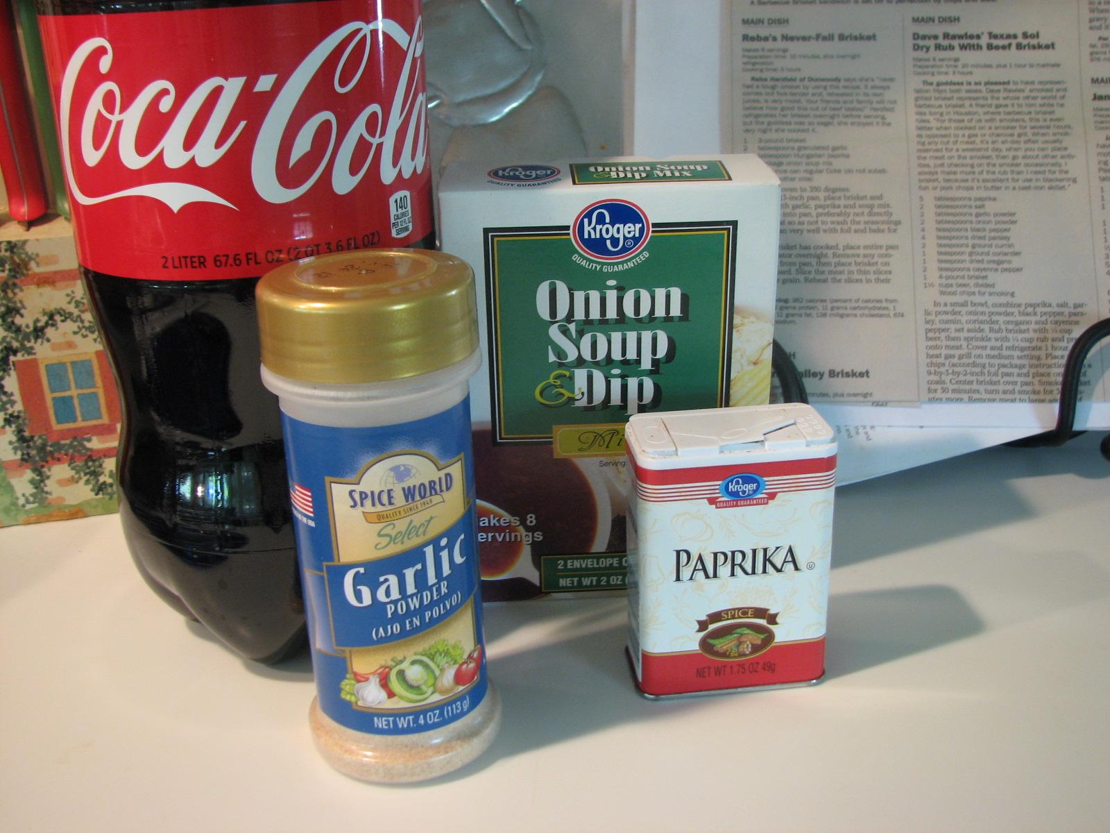 The Provident Progenitor: Easter Coca-Cola Brisket
