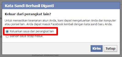 Ketahui Cara Mengubah Password Facebook