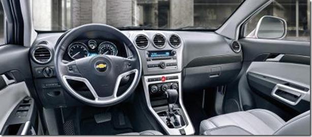 Chevrolet Captiva 2013 Interior
