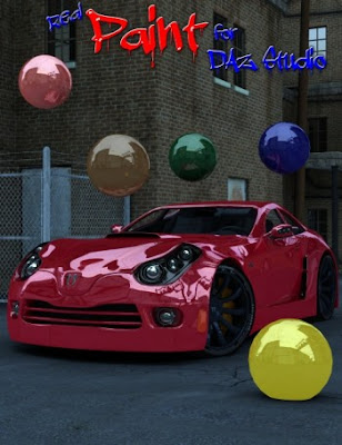 Real Paint for DAZ Studio