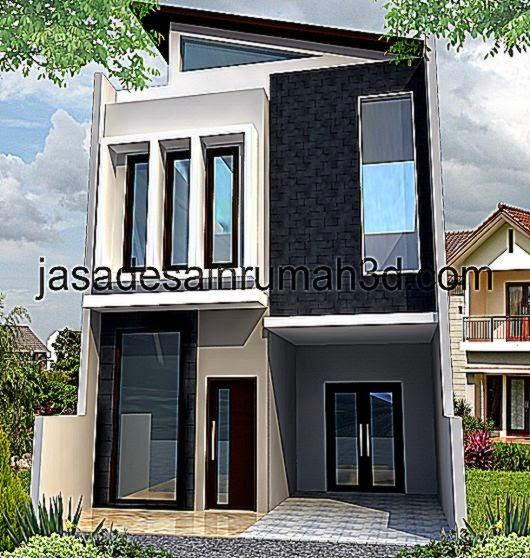Kumpulan Gambar Jasa Desain Rumah 3DRumah Minimalis 2 Lantai Tipe